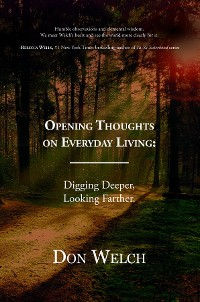 Cover Opening Thoughts on Everyday Living