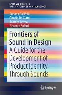 Cover Frontiers of Sound in Design