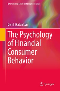 Cover The Psychology of Financial Consumer Behavior