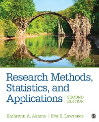 Cover Research Methods, Statistics, and Applications