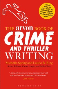 Cover Arvon Book of Crime and Thriller Writing