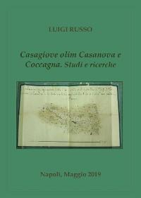 Cover Casagiove olim Casanova e Coccagna. Studi e ricerche