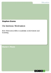Cover On Intrinsic Motivation
