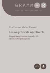 Cover Les co-predicats adjectivants