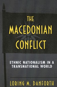 Cover The Macedonian Conflict