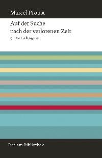Cover Auf der Suche nach der verlorenen Zeit. Band 5: Die Gefangene