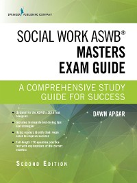 Cover Social Work ASWB Masters Exam Guide