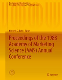 Cover Proceedings of the 1988 Academy of Marketing Science (AMS) Annual Conference
