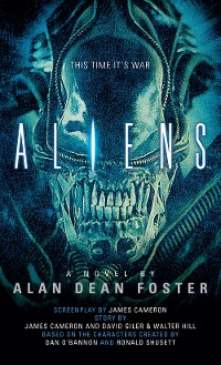 Cover Aliens: The Official Movie Novelization