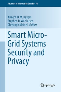 Cover Smart Micro-Grid Systems Security and Privacy