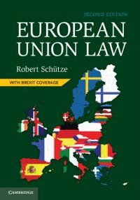 Cover European Union Law
