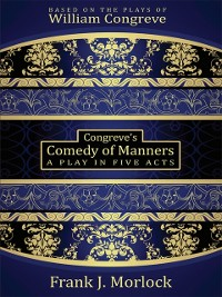 Cover Congreve's Comedy of Manners