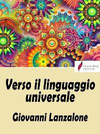 Cover Verso il linguaggio universale