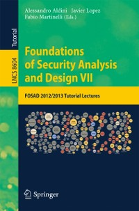 Cover Foundations of Security Analysis and Design VII