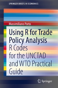 Cover Using R for Trade Policy Analysis