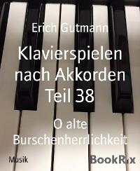 Cover Klavierspielen nach Akkorden Teil 38