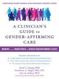Cover A Clinician's Guide to Gender-Affirming Care