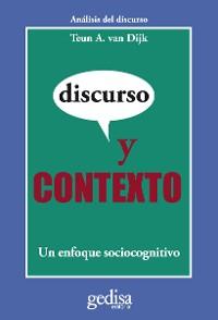 Cover Discurso y contexto