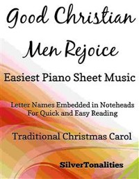 Cover Good Christian Men Rejoice Easiest Piano Sheet Music