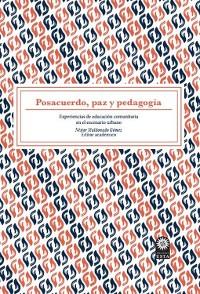 Cover Posacuerdo, paz y pedagogía