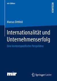 Cover Internationalität und Unternehmenserfolg