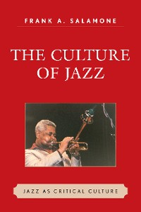 Cover The culture of jazz