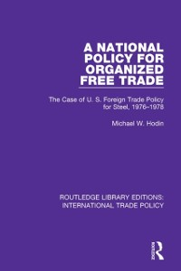 Cover National Policy for Organized Free Trade
