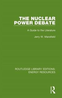 Cover Nuclear Power Debate