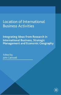 Cover Location of International Business Activities