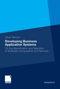 Cover Developing Business Application Systems