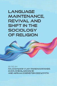 Cover Language Maintenance, Revival and Shift in the Sociology of Religion