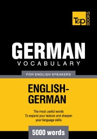 Cover German Vocabulary for English Speakers: 5000 Words