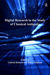 Cover Digital Research in the Study of Classical Antiquity