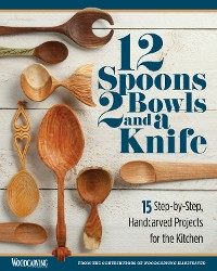 Cover 12 Spoons, 2 Bowls, and a Knife