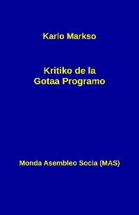 Cover Kritiko de la Gotaa Programo