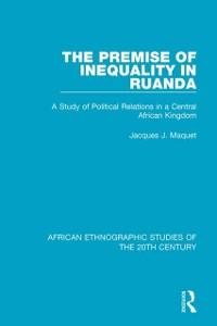 Cover Premise of Inequality in Ruanda