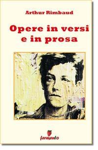 Cover Opere in versi e prosa