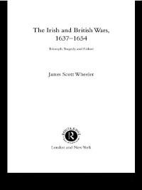 Cover Irish and British Wars, 1637-1654