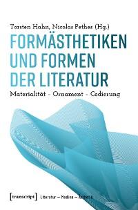 Cover Formästhetiken und Formen der Literatur