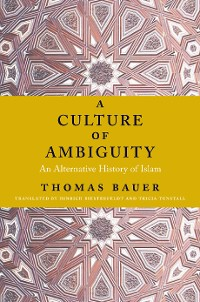 Cover A Culture of Ambiguity