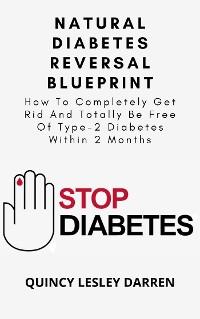 Cover Natural Diabetes Reversal Blueprint