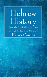 Cover Hebrew History