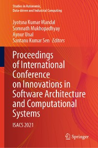 Cover Proceedings of International Conference on Innovations in Software Architecture and Computational Systems
