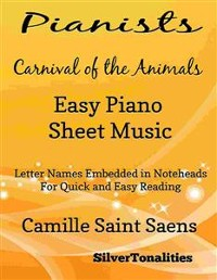 Cover Pianists Carnival of the Animals Easy Piano Sheet Music