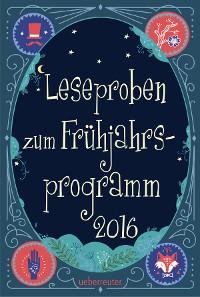 Cover Ueberreuter Lesebuch Kinder- und Jugendbuch Frühjahr 2016