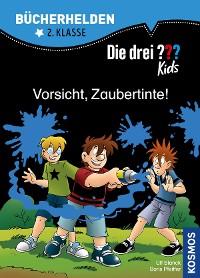 Cover Die drei ??? Kids, Bücherhelden, Vorsicht, Zaubertinte! (drei Fragezeichen Kids)
