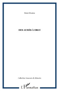 Cover Des aures a orly