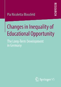 Cover Changes in Inequality of Educational Opportunity