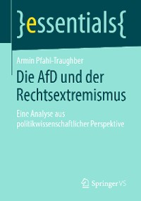 Cover Die AfD und der Rechtsextremismus