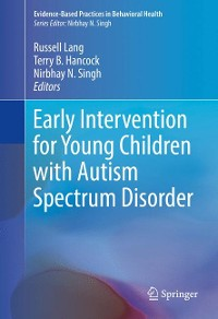 Cover Early Intervention for Young Children with Autism Spectrum Disorder